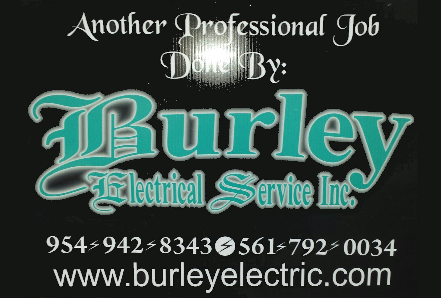 About Us Burley Electrical Services Fort Lauderdale Fl Master Of The Electric In Your Home Contact Licensed Lance 01